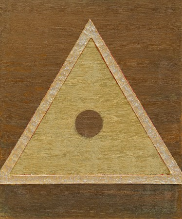 The Holographic Principle ~ 50cm x 60cm ~ mixed media on canvas ~ Chris Billington