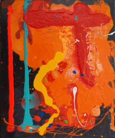 'Die Rote Kapelle' (2012) ~ 50cm x 60cm ~ acrylic on canvas ~  Berlin ~ Chris Billington