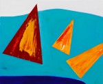 I Saw Three Ships (2012) ~ 60cm X 50cm ~ Chris Billington