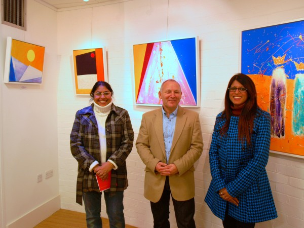 Colours Of Christmas - Chris Billington @ The Blake Gallery - Private View 14