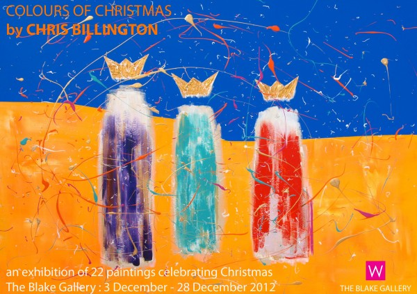 Colours Of Christmas ~ Chris Billington