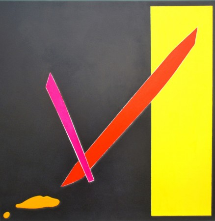 Viva Valencia (2010) ~ 80cm X 80cm ~ Chris Billington