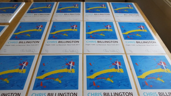 Flight 1549 ~ The Signing ~ Chris Billington