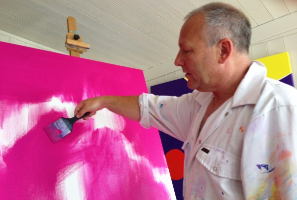 Art News From The Studio Of Chris Billington ~ British Abstract Art Meets German Landscape