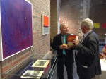 Abstract Artist Chris Billington ~ Exhibition at The Juelich Museum 2013 11