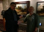 Abstract Artist Chris Billington ~ Exhibition at The Juelich Museum 2013 with Bernhard Dautzenberg