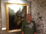 Abstract Artist Chris Billington ~ Exhibition at The Juelich Museum 2013 with Schirmers Via Mala