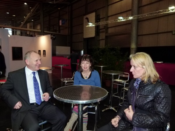 Chris Billington talks contemporary art at Lille Art Fair with Maf and Jennie