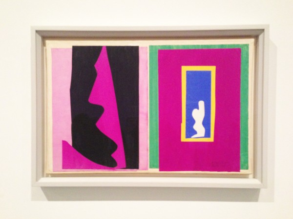 Henri Matisse The Cut-Outs at Tate Modern 2014 ~ Chris Billington