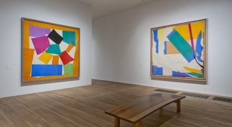 The Snail and Memory of Oceana are reunited in Henri Matisse The Cut Outs at Tate Modern  ~ Photo Tate