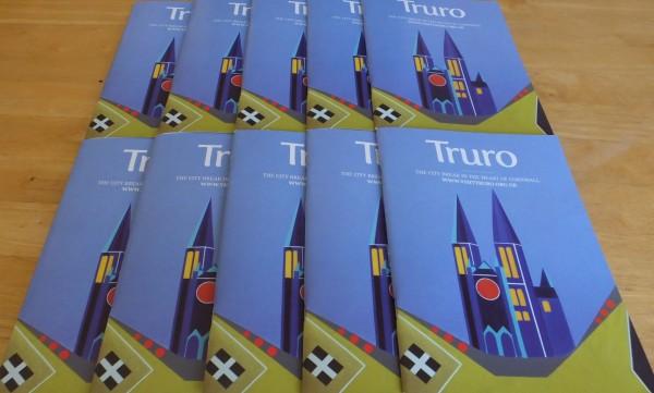 Three Spires Under Blue Skies ~ 2105 Official Truro Guide ~ Chris Billington ~ Modern Art