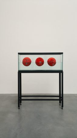 Jeff Koons Basketballs @ Damien Hirst Newport Street Gallery - Chris Billington 2016